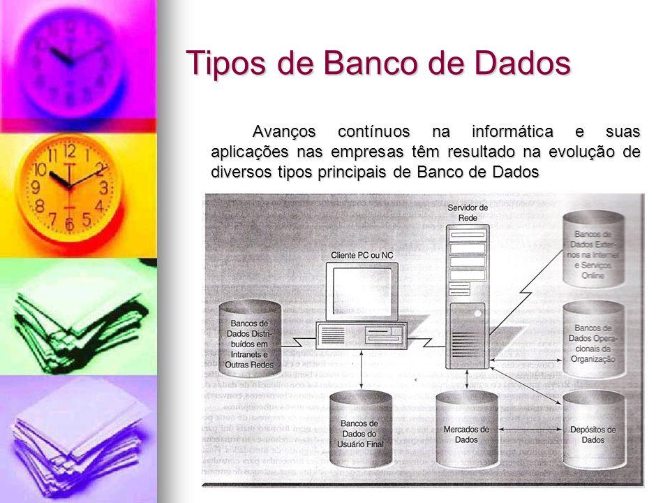 Tipos de Banco de Dados