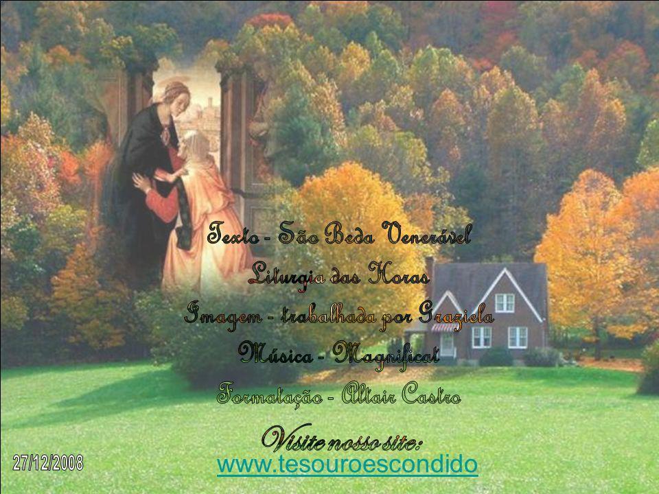 Texto - São Beda Venerável Liturgia das Horas