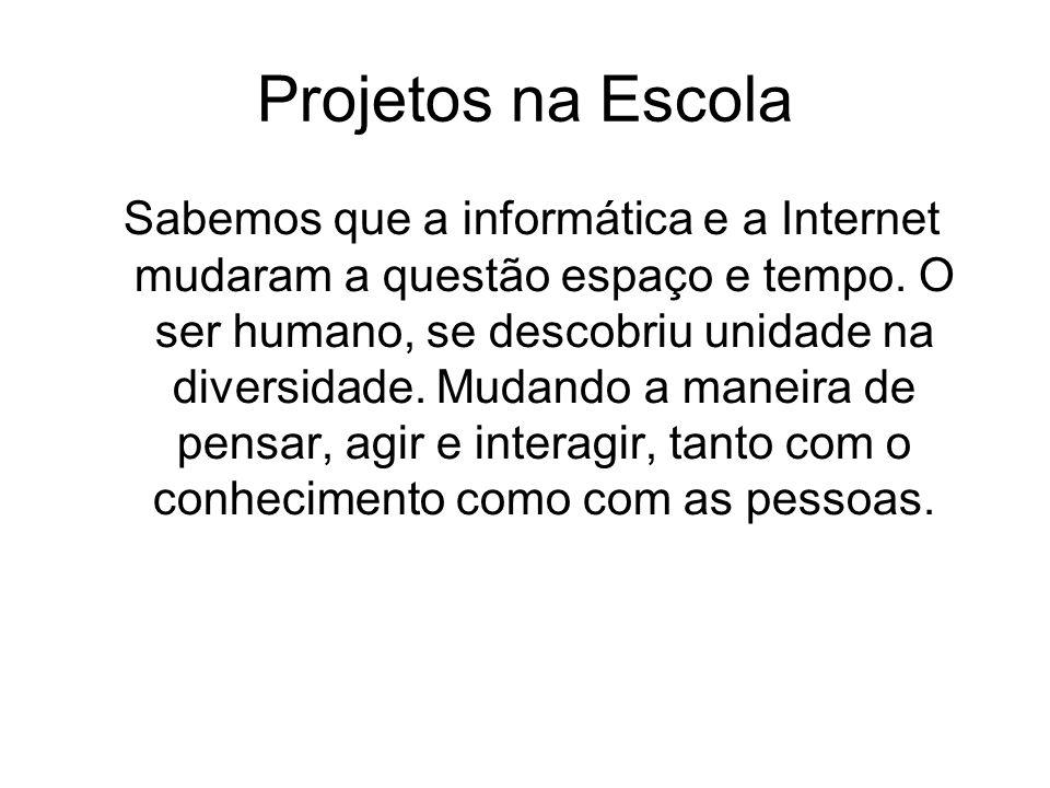 Projetos na Escola