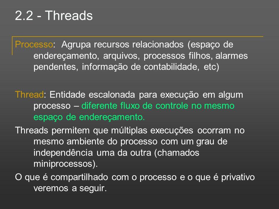 2.2 - Threads
