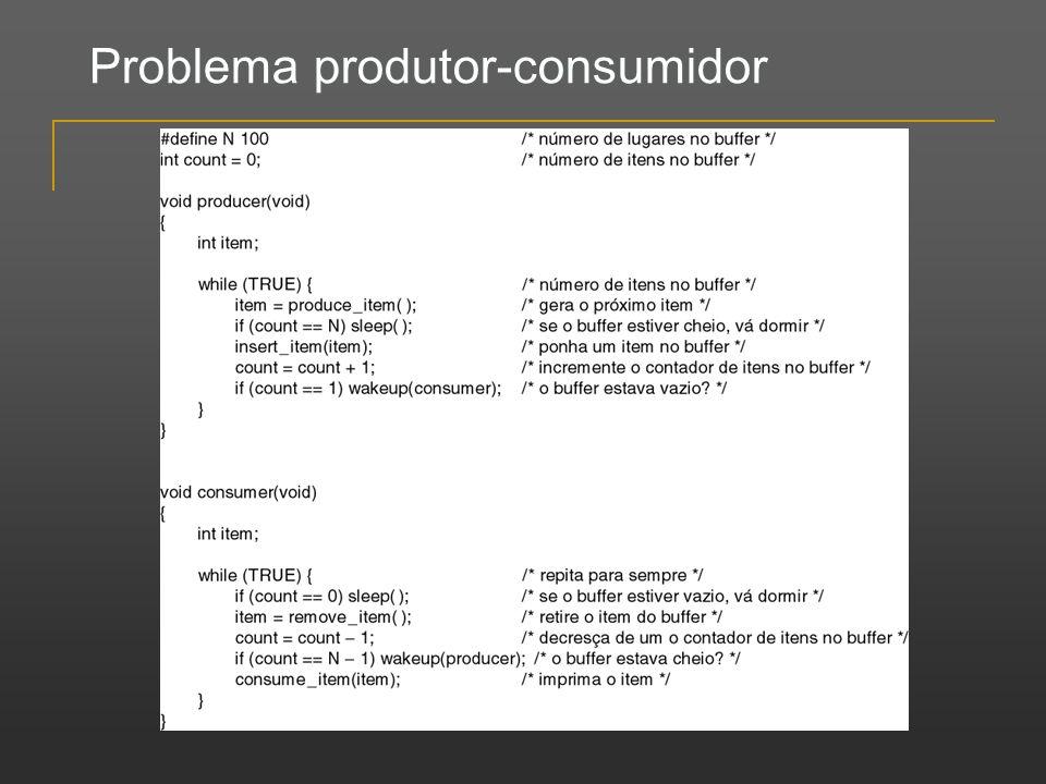 Problema produtor-consumidor