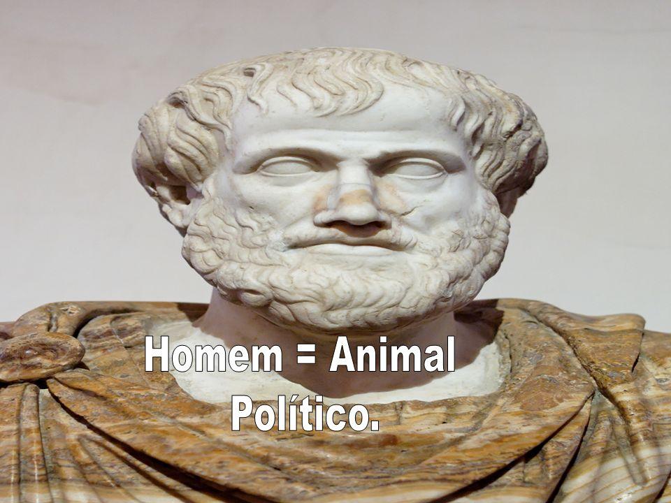 Homem = Animal Político.