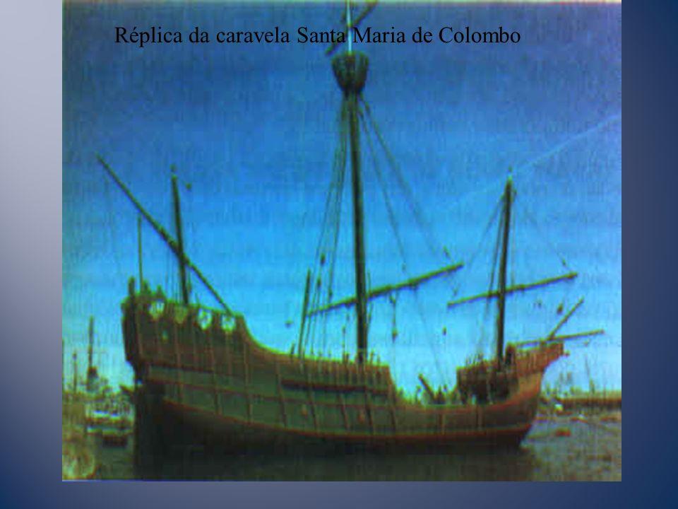 Réplica da caravela Santa Maria de Colombo