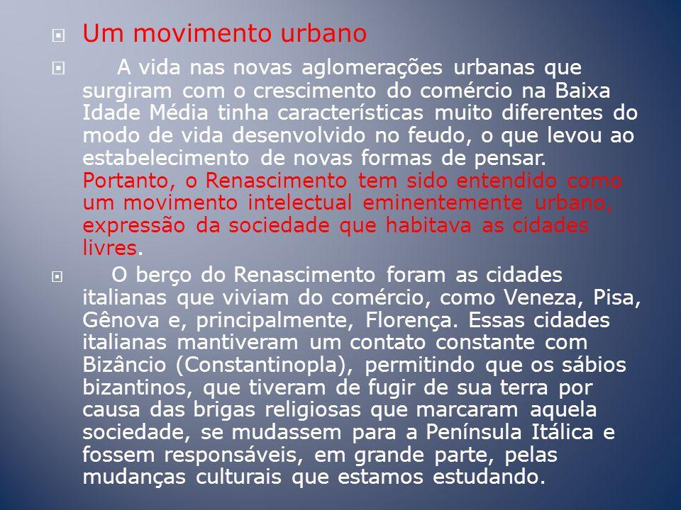 Um movimento urbano