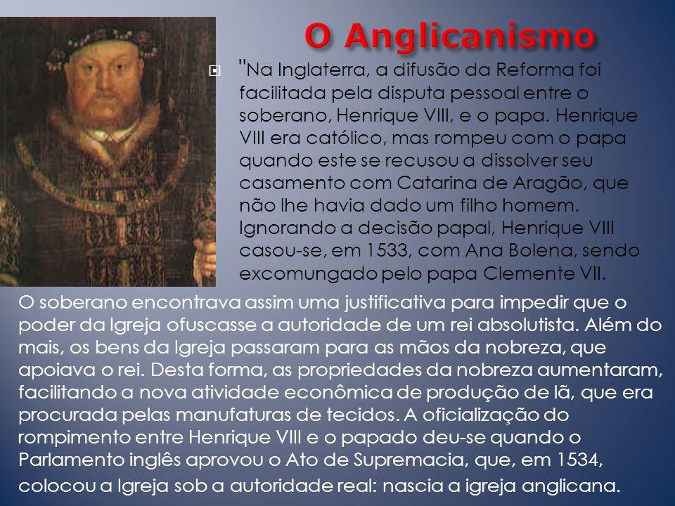 O Anglicanismo