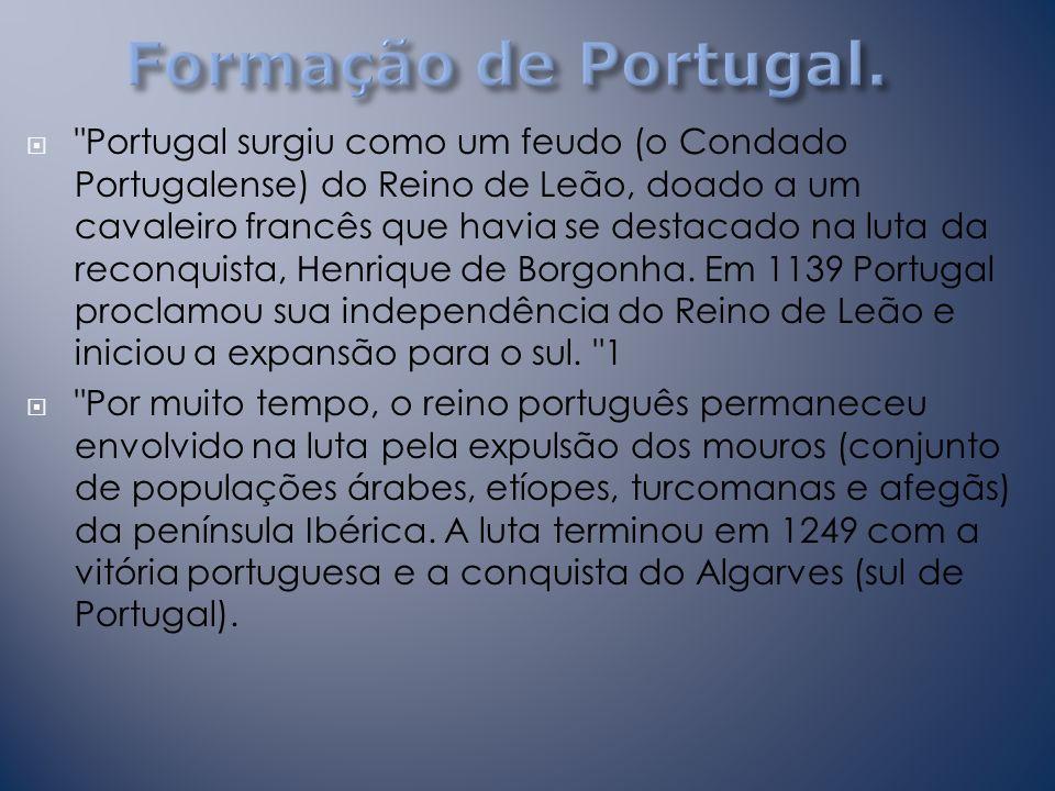 Formação de Portugal.