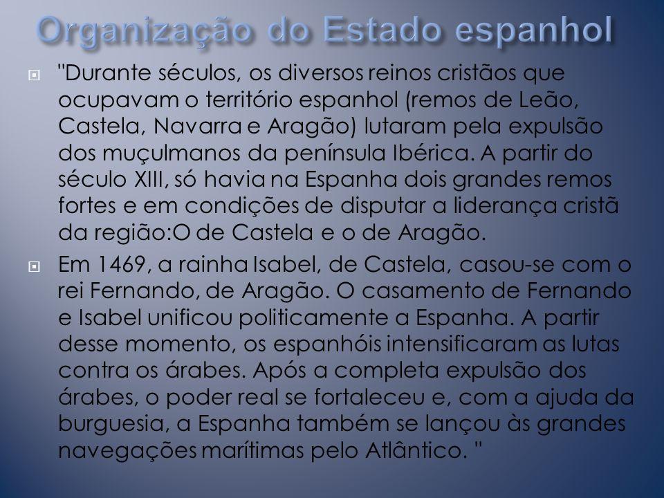 Organização do Estado espanhol