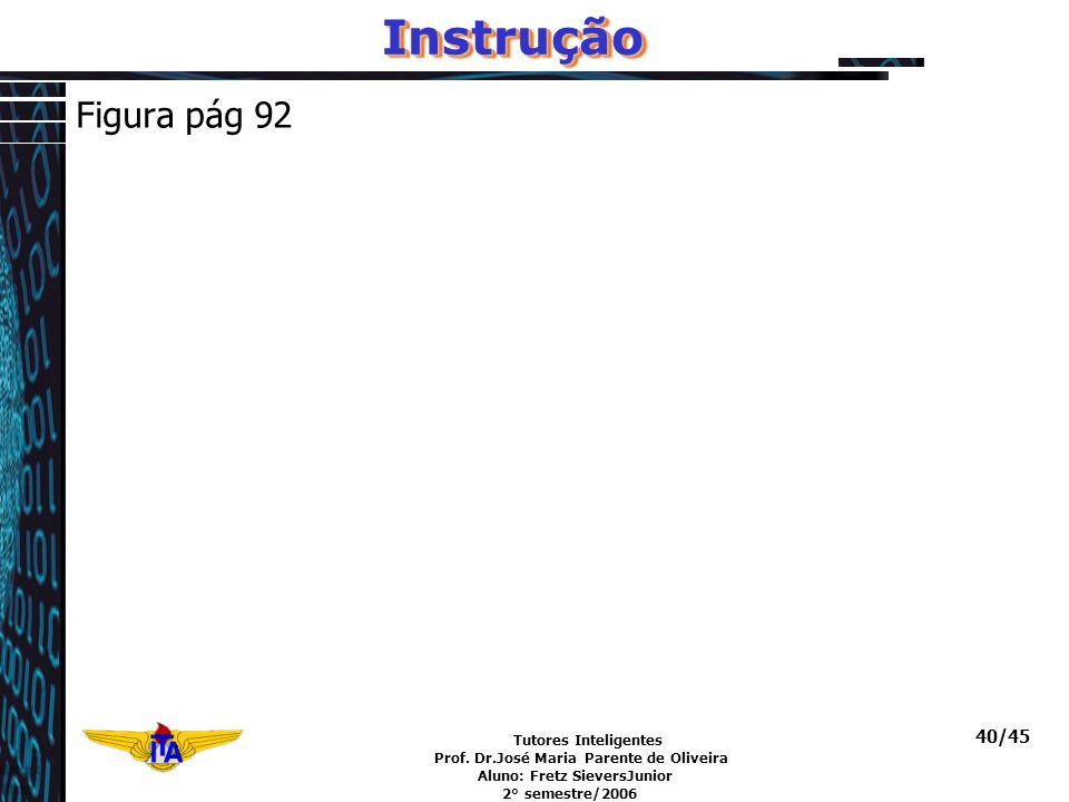 Instrução Figura pág 92