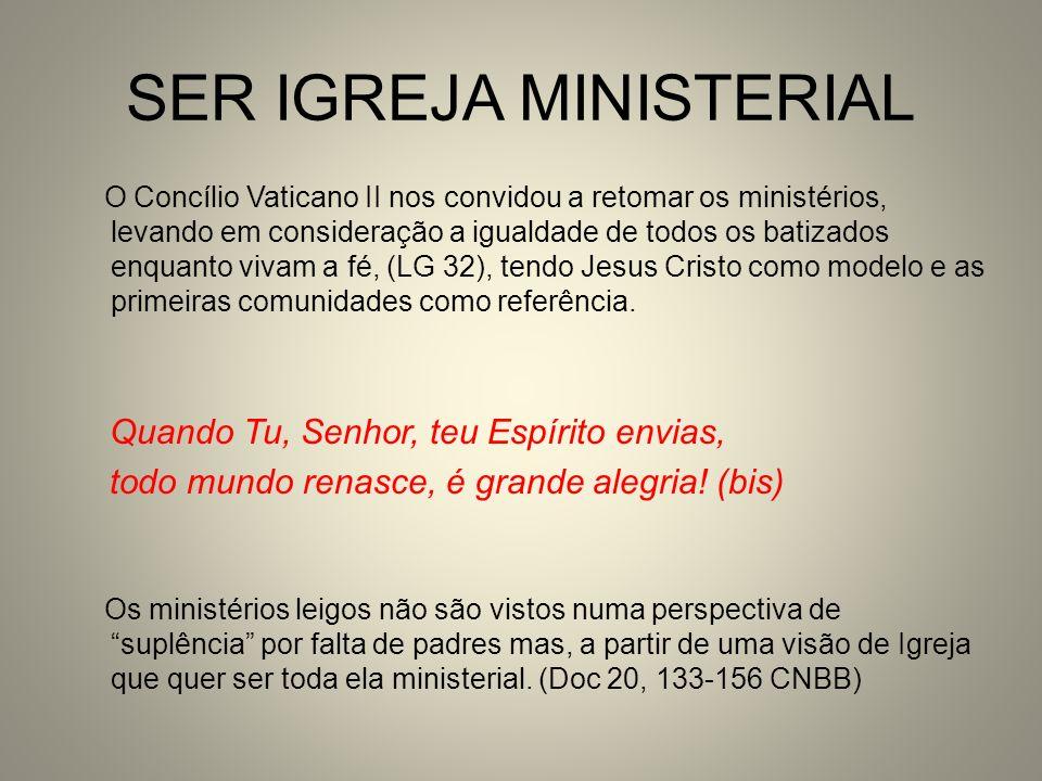 SER IGREJA MINISTERIAL