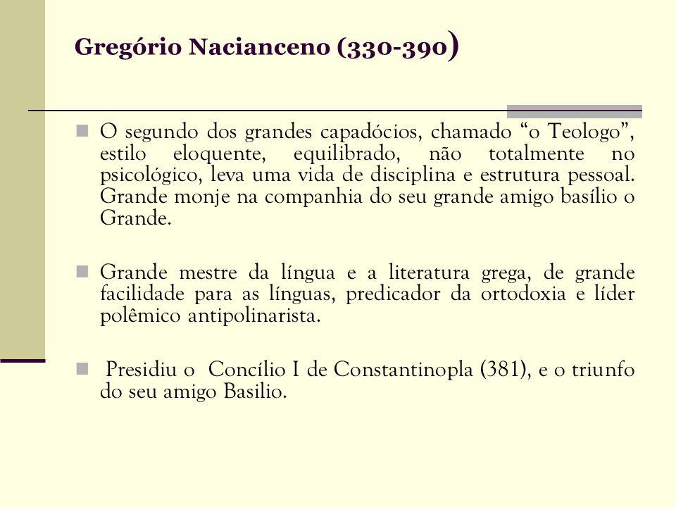 Gregório Nacianceno (330-390)