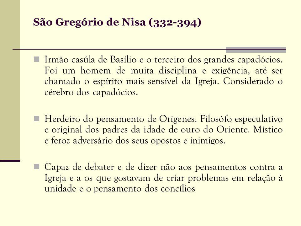 São Gregório de Nisa (332-394)
