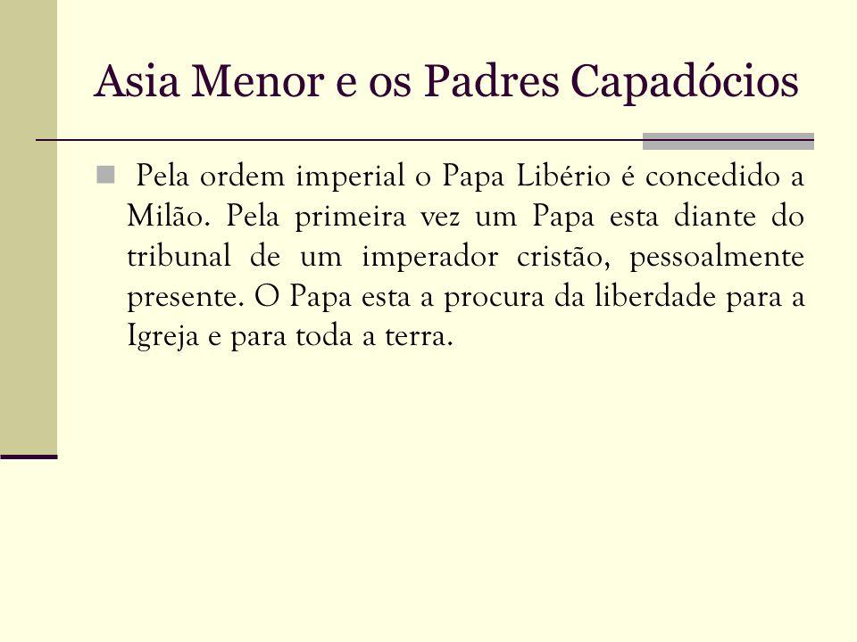 Asia Menor e os Padres Capadócios