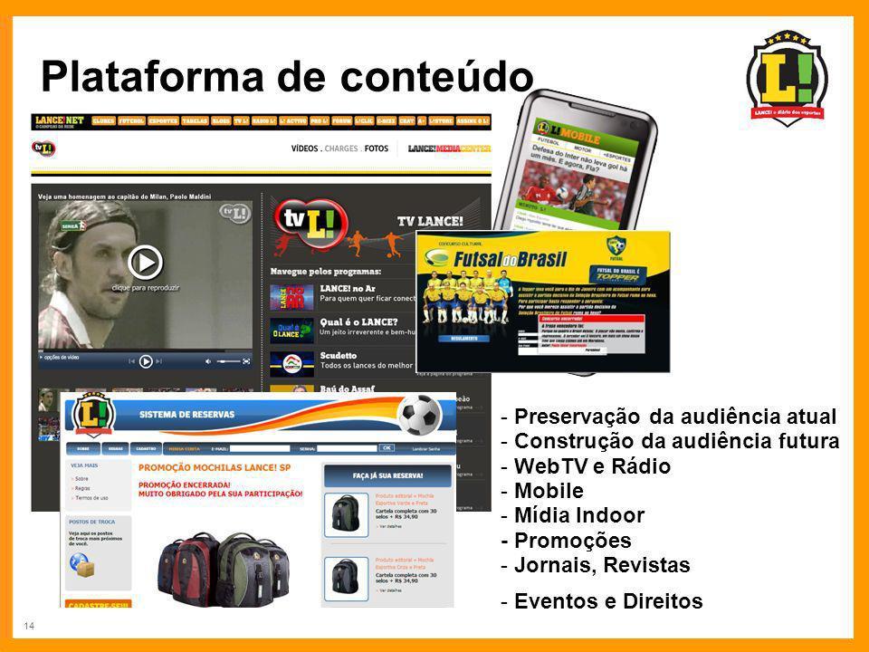 Plataforma de conteúdo