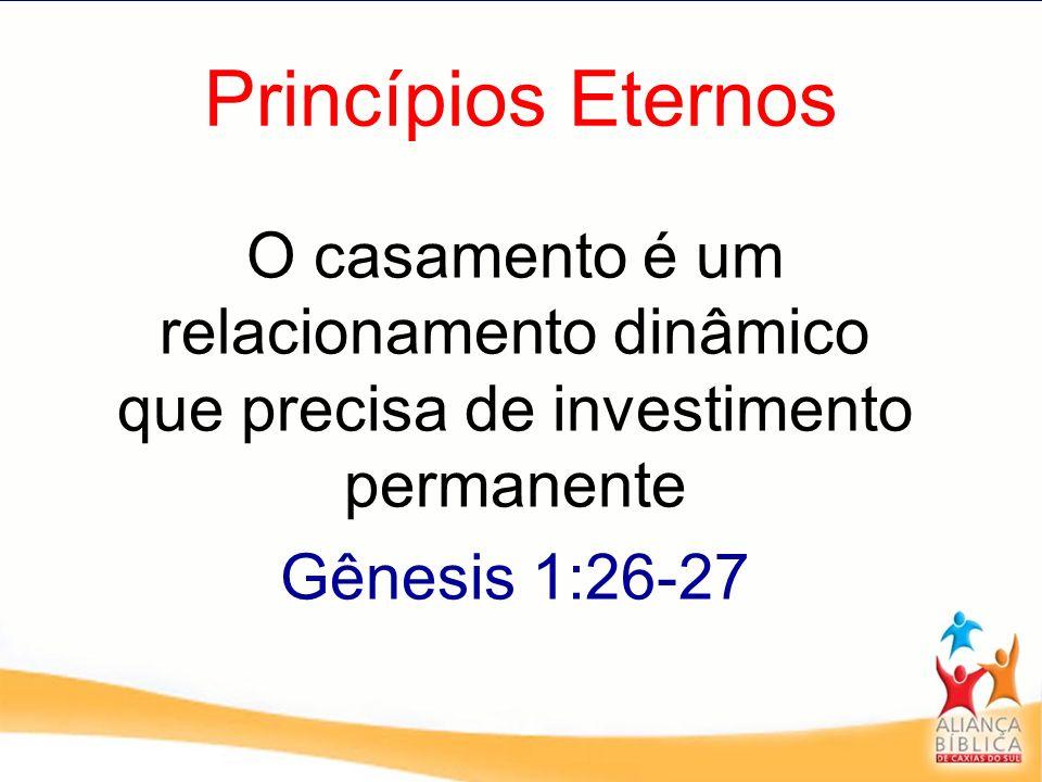 Princípios Eternos Gênesis 1:26-27