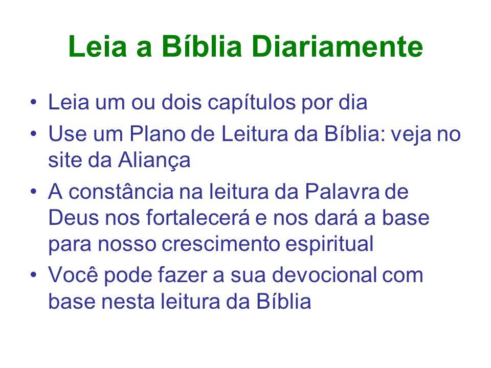 Leia a Bíblia Diariamente