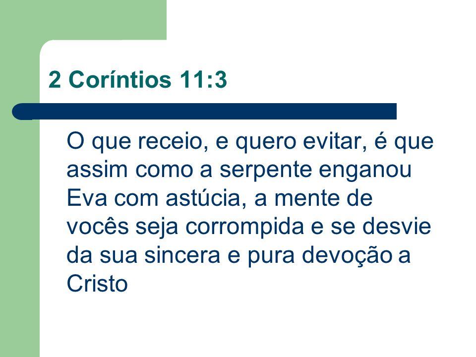 2 Coríntios 11:3