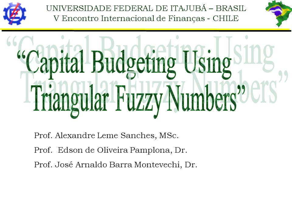 Capital Budgeting Using