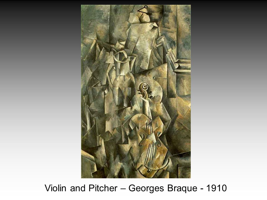 Violin and Pitcher – Georges Braque - 1910