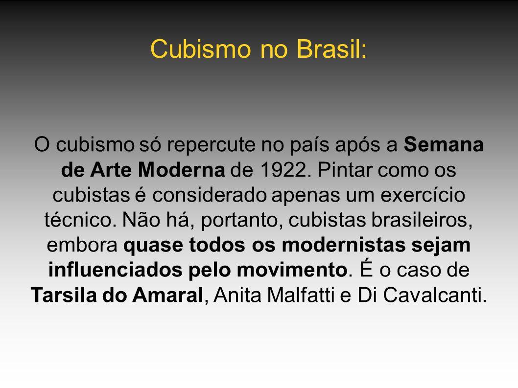 Cubismo no Brasil: