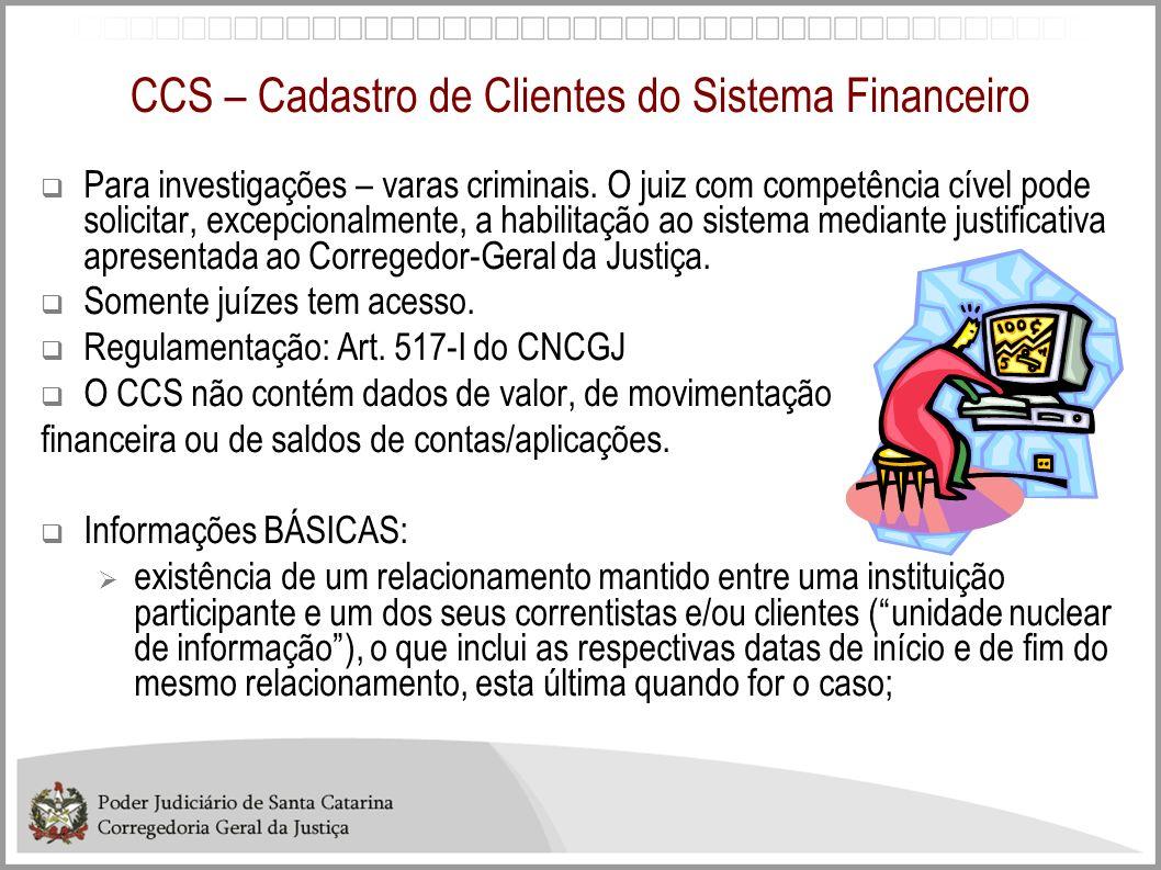 CCS – Cadastro de Clientes do Sistema Financeiro