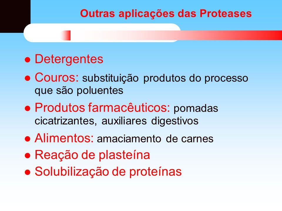 Outras aplicações das Proteases