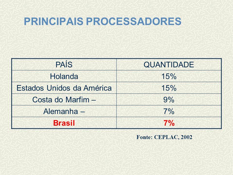 PRINCIPAIS PROCESSADORES