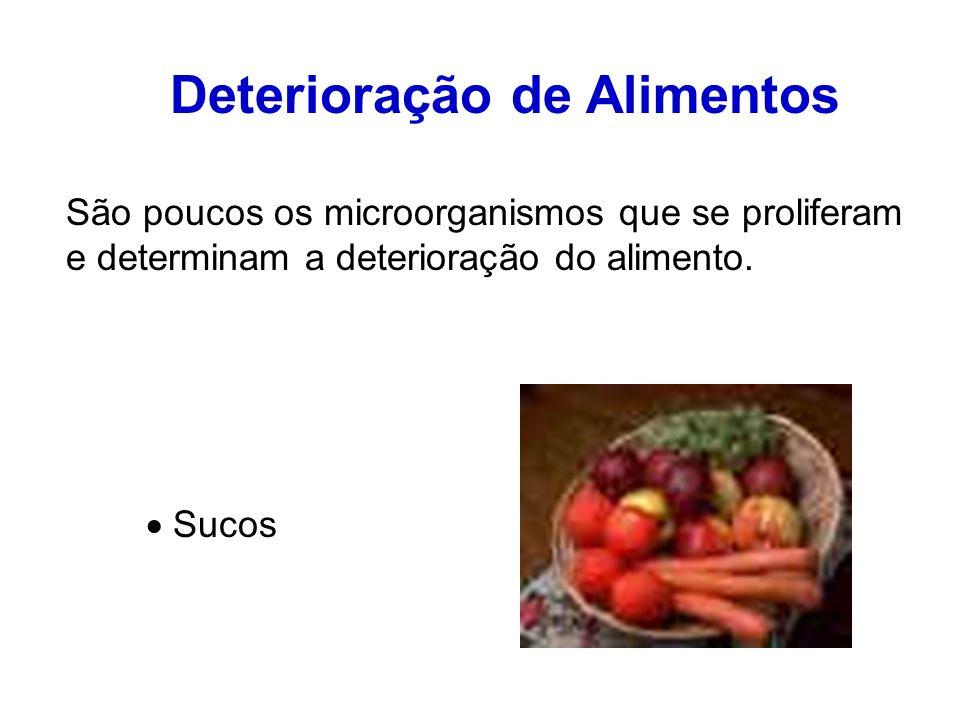 Deterioração de Alimentos