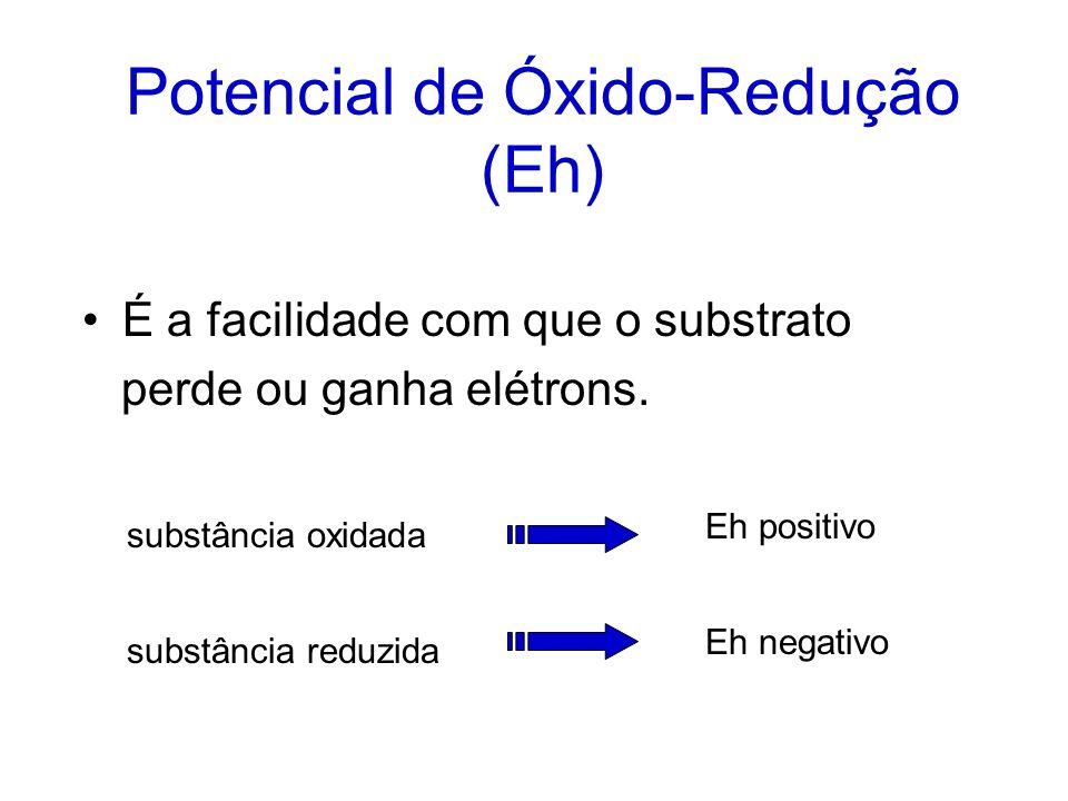 Potencial de Óxido-Redução (Eh)