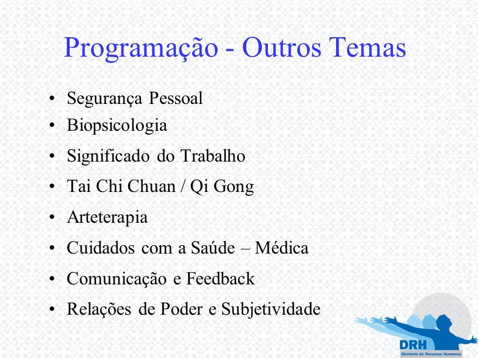 Programação - Outros Temas