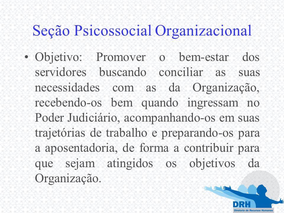 Seção Psicossocial Organizacional