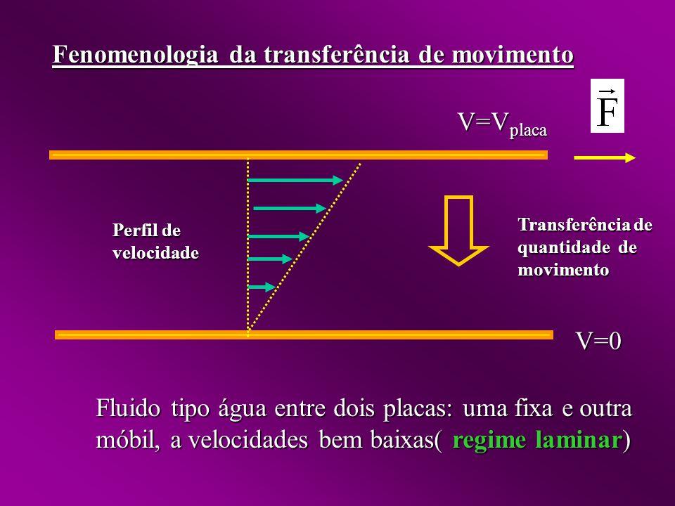 Fenomenologia da transferência de movimento