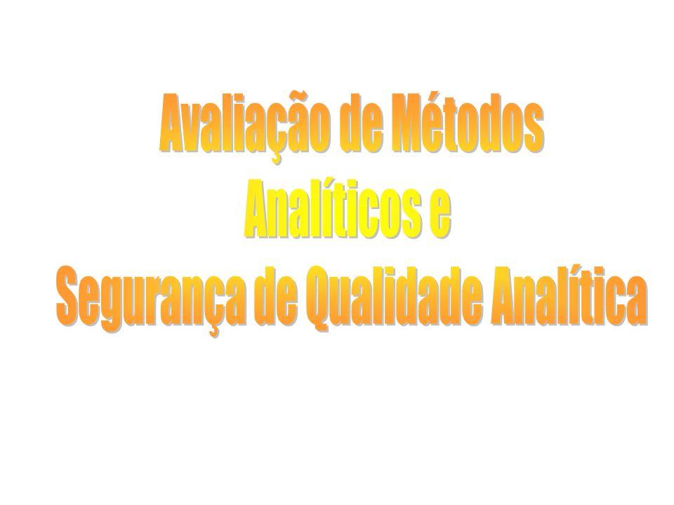 Segurança de Qualidade Analítica