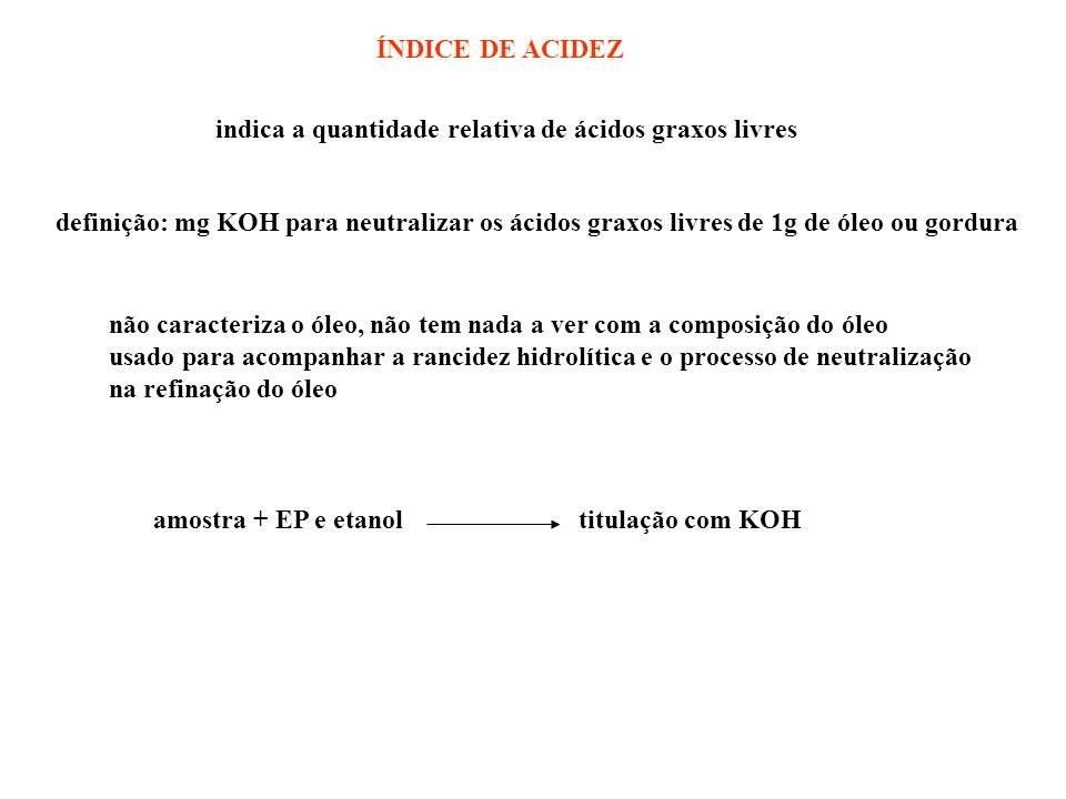 amostra + EP e etanol titulação com KOH