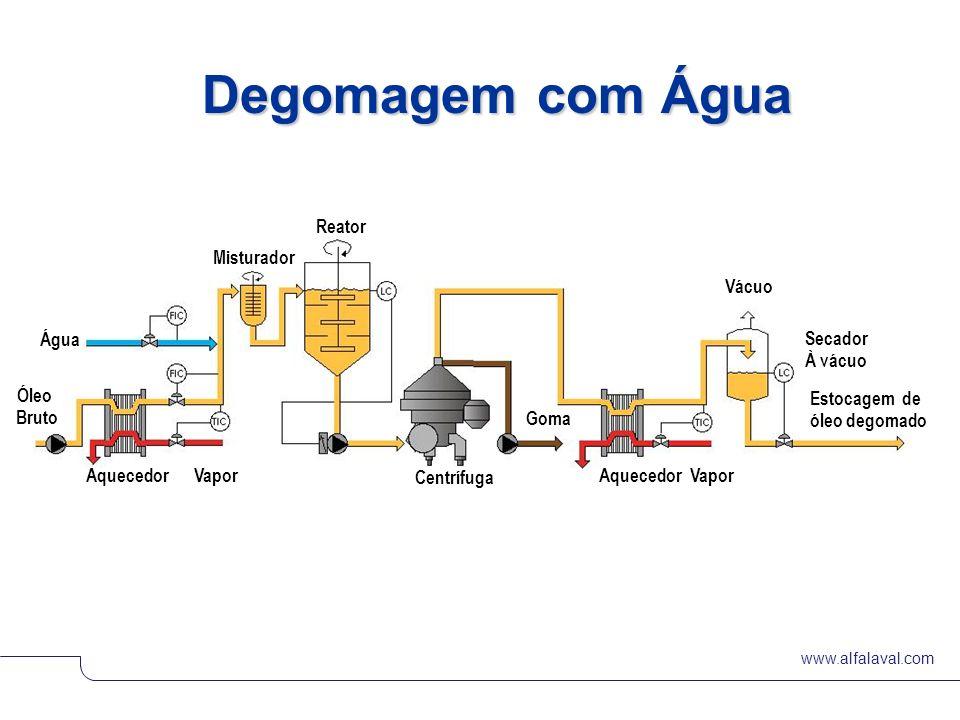 Degomagem com Água Reator Misturador Vácuo Água Secador À vácuo Óleo