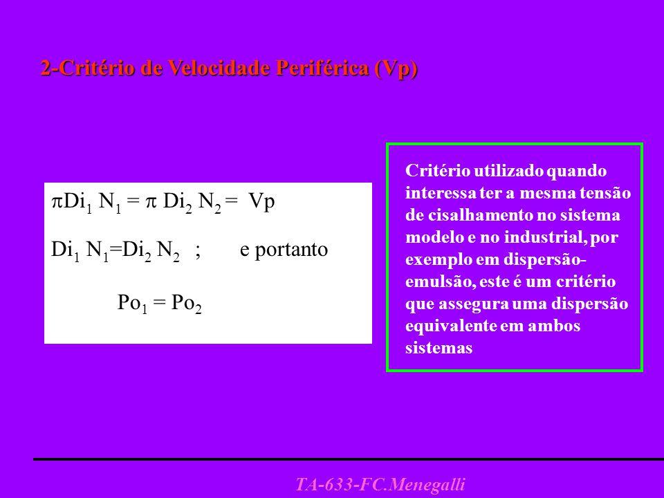2-Critério de Velocidade Periférica (Vp)