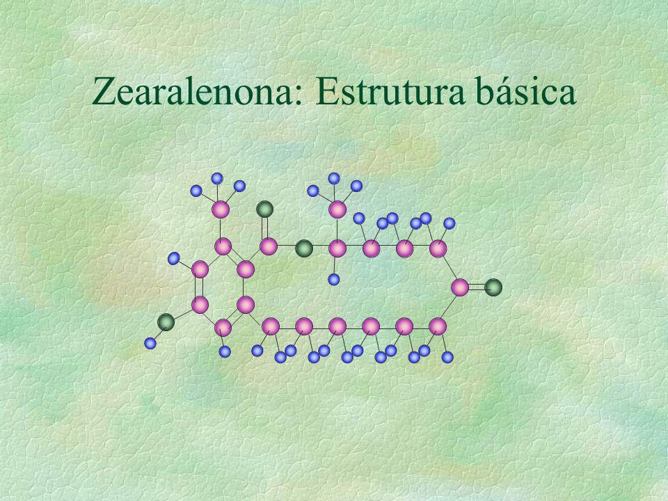 Zearalenona: Estrutura básica