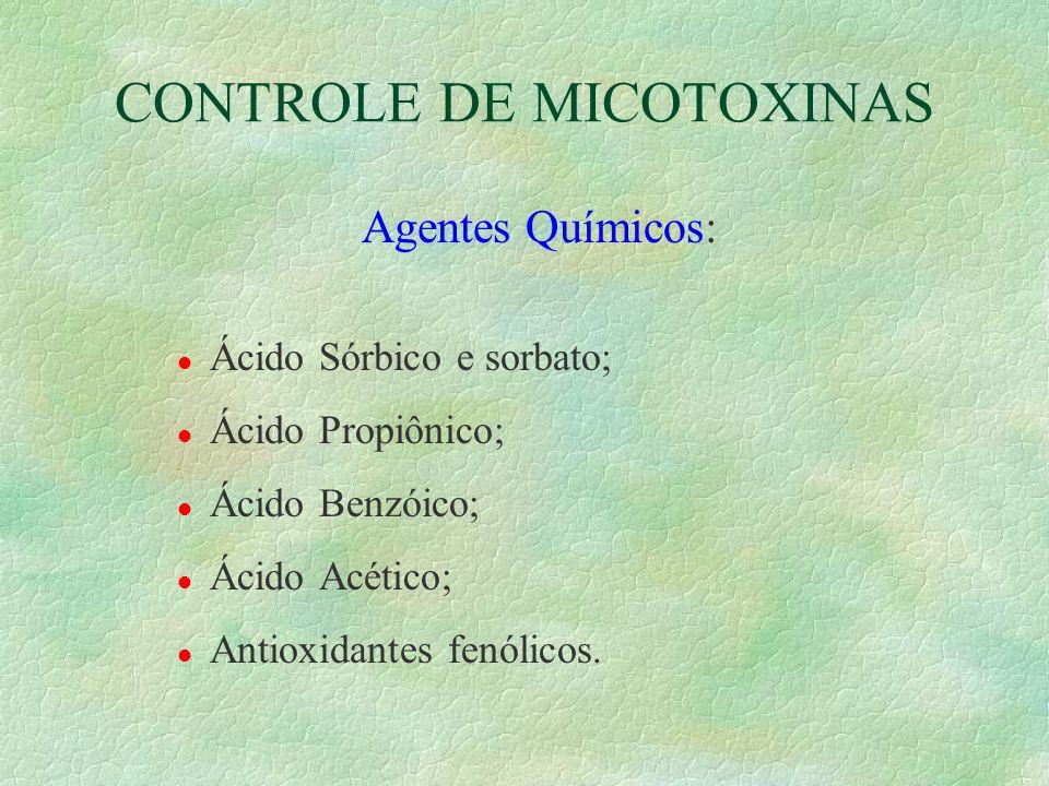 CONTROLE DE MICOTOXINAS