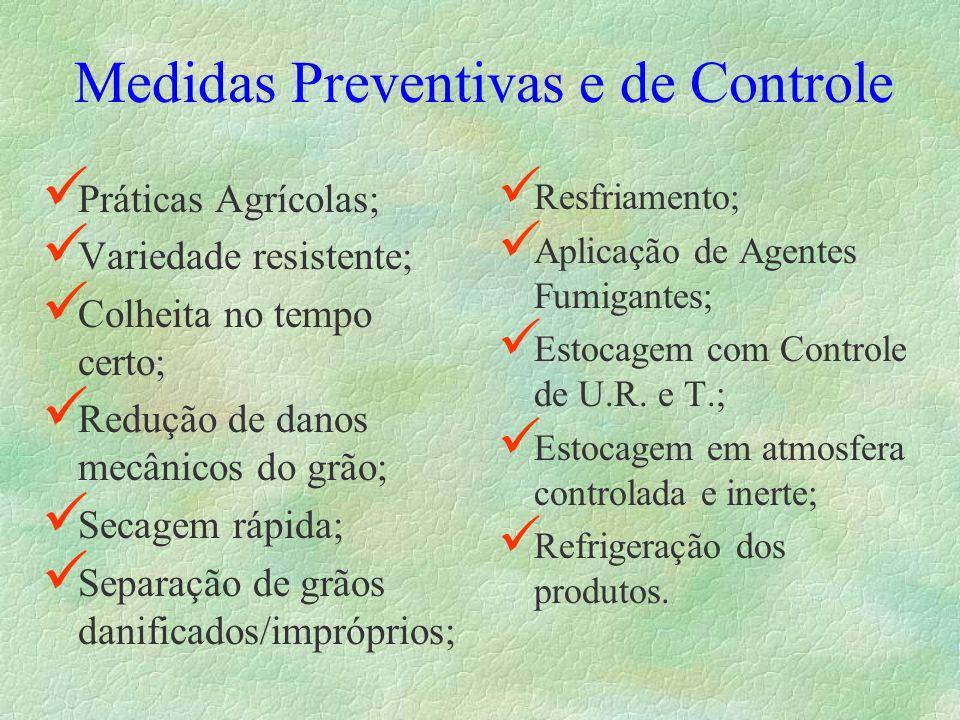 Medidas Preventivas e de Controle
