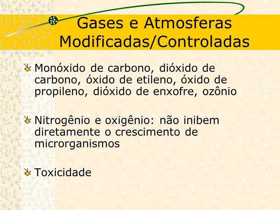 Gases e Atmosferas Modificadas/Controladas