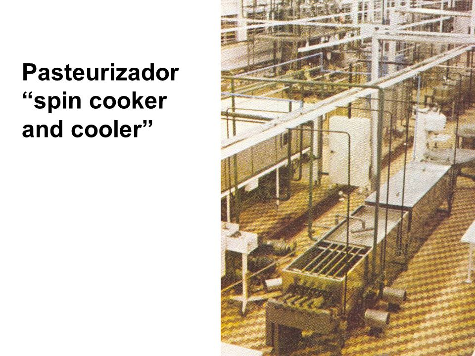 Pasteurizador spin cooker and cooler