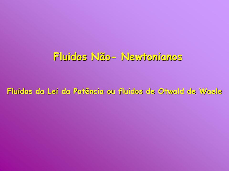 Fluidos Não- Newtonianos