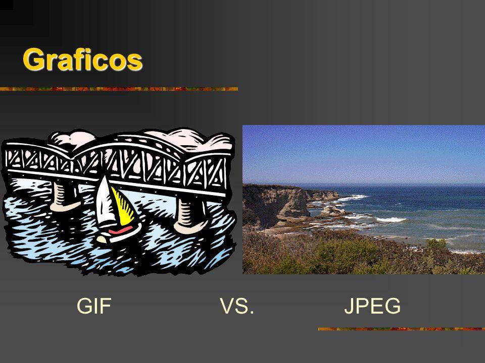 Graficos GIF VS. JPEG Jane's Power Points!