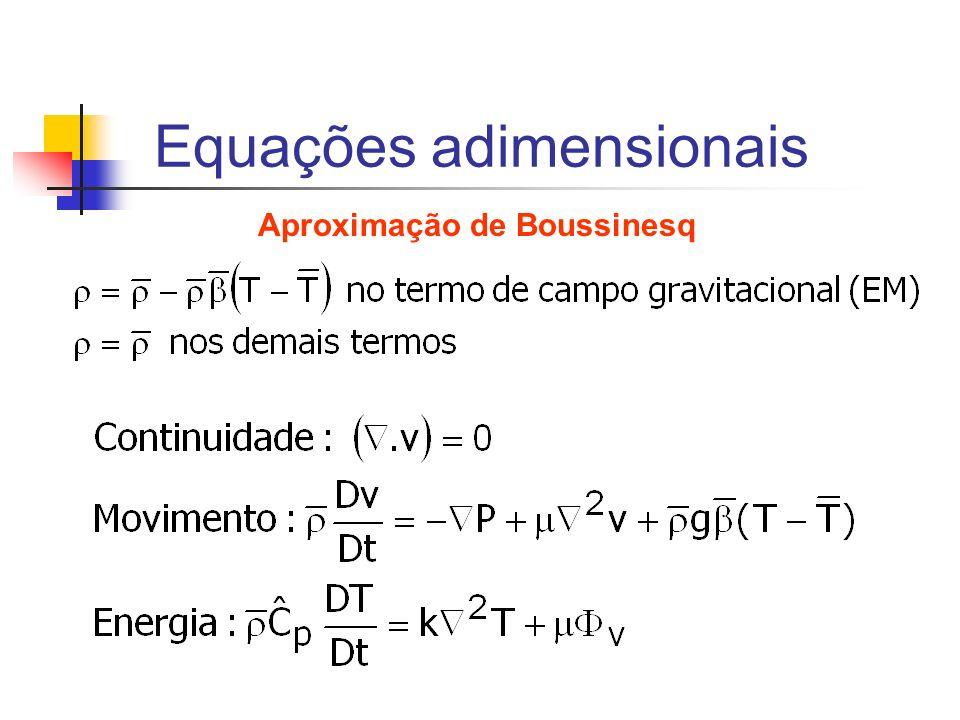 Equações adimensionais