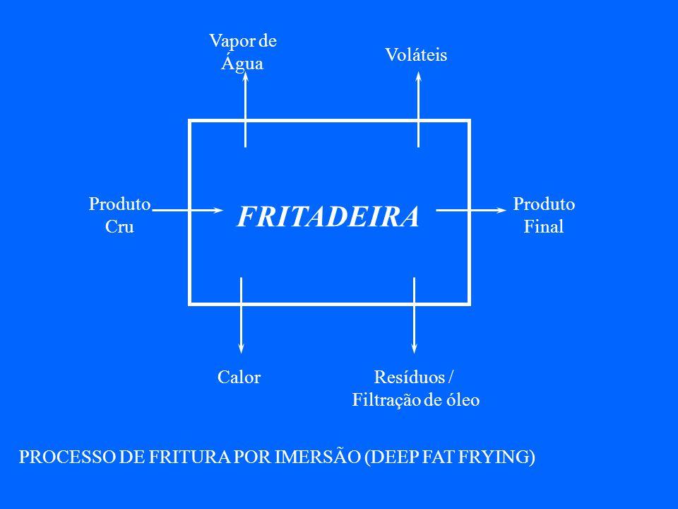 PROCESSO DE FRITURA POR IMERSÃO (DEEP FAT FRYING)