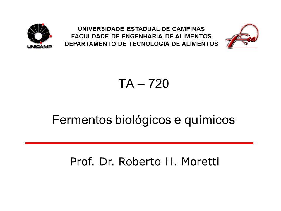 TA – 720 Fermentos biológicos e químicos
