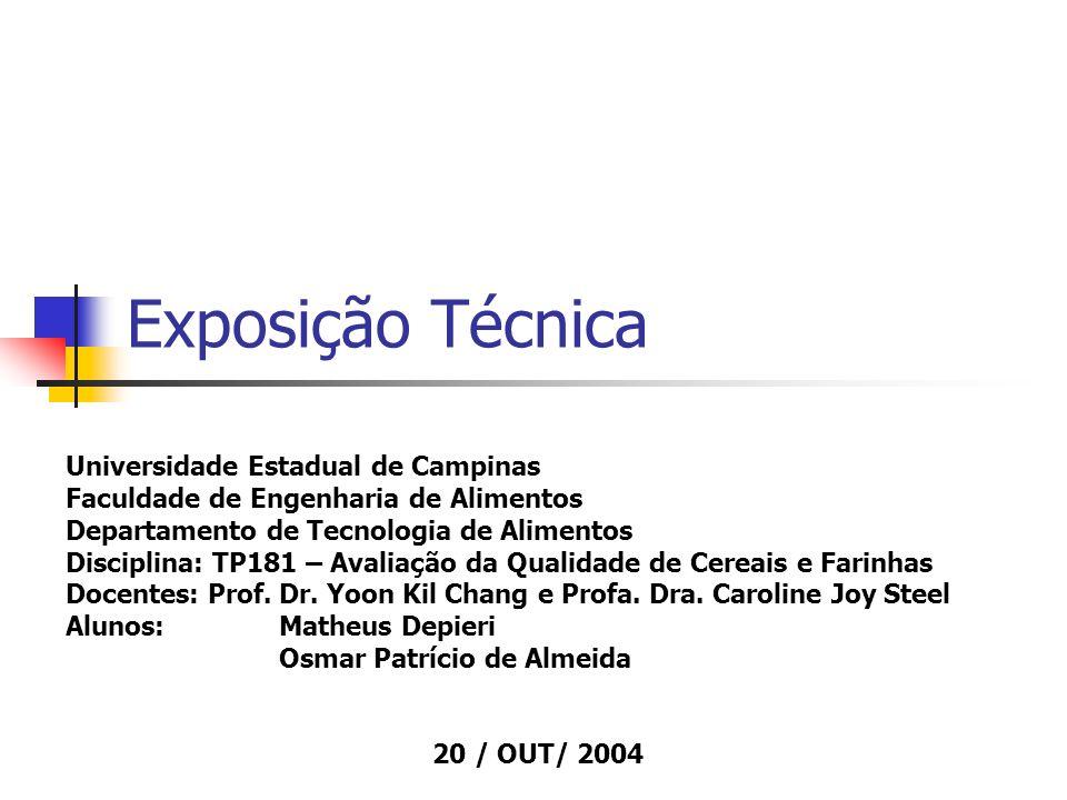 Exposição Técnica Universidade Estadual de Campinas