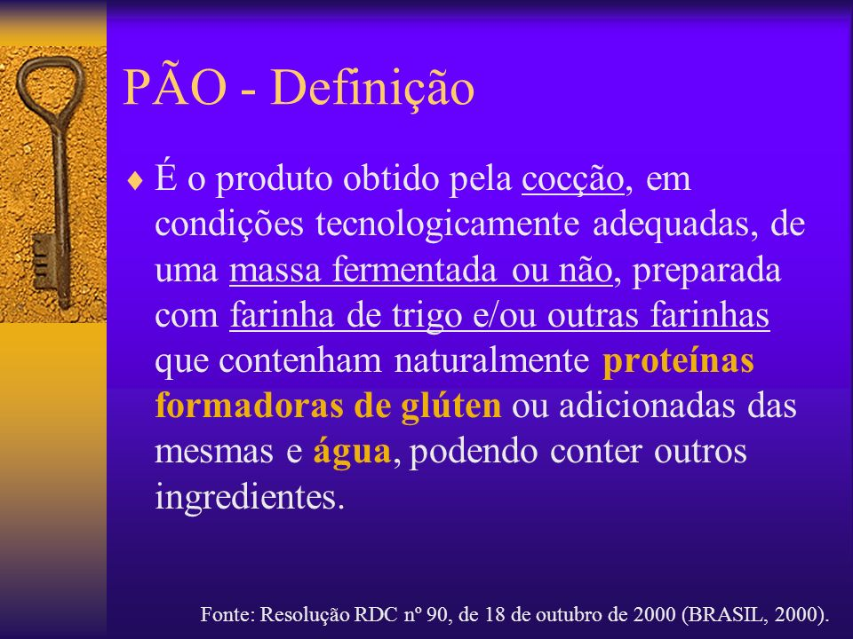 PÃO - Definição