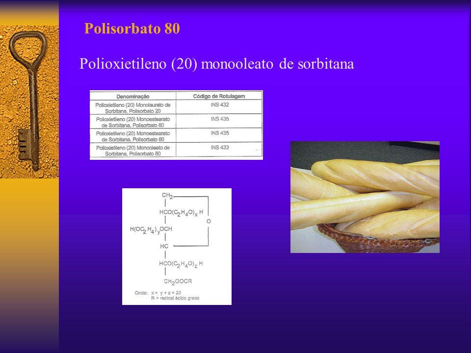Polisorbato 80 Polioxietileno (20) monooleato de sorbitana