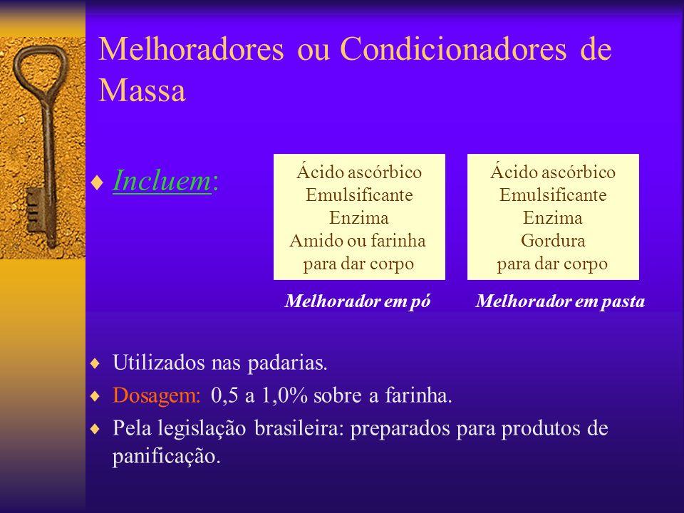 Melhoradores ou Condicionadores de Massa