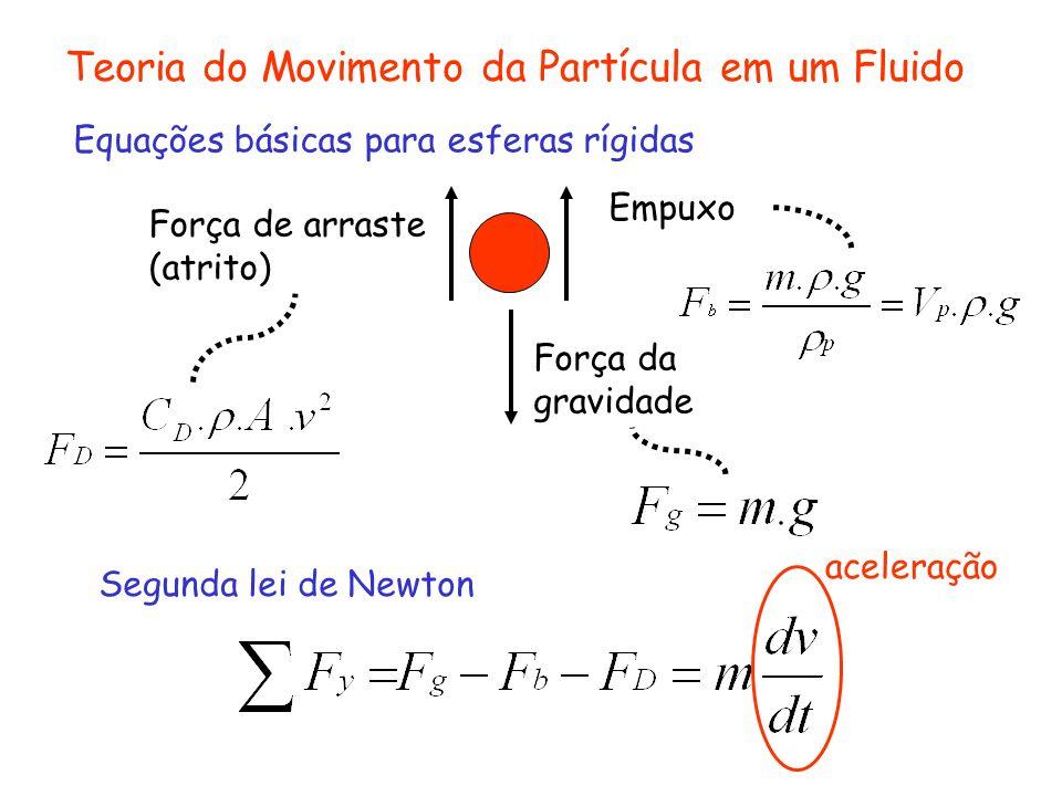Teoria do Movimento da Partícula em um Fluido